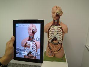Réalité Augmentée et médecine : aide à la formation des étudiants
