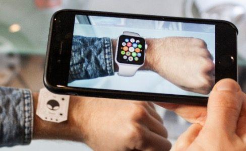 Réalité augmentée iPhone