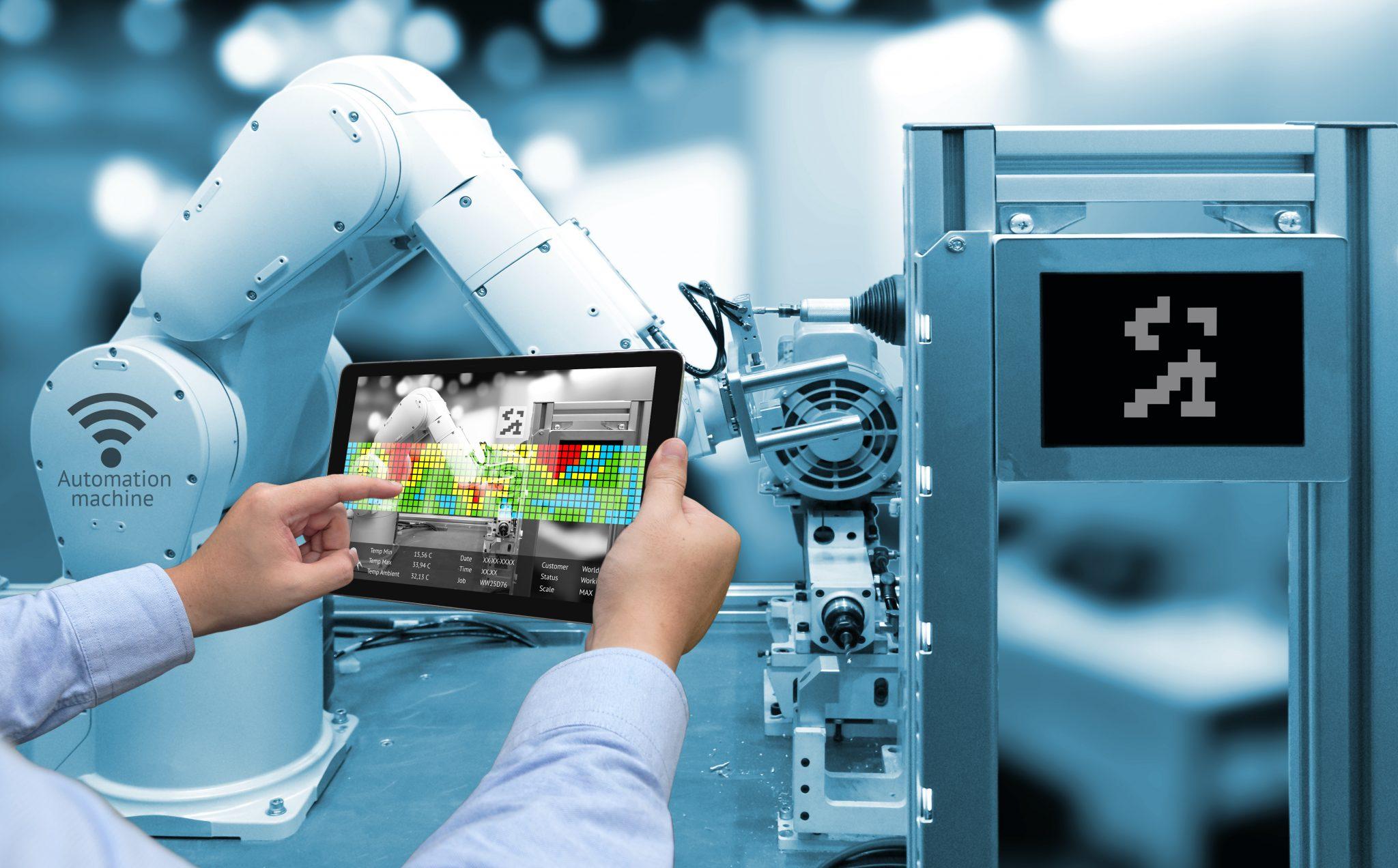 La réalité augmentée dans l'industrie en développement